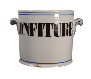 Tin Glazed Confiture Pot