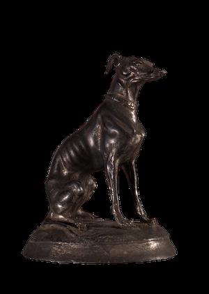 Cast Metal Dog