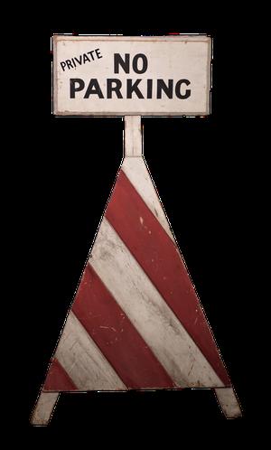 Estate Parking Sign