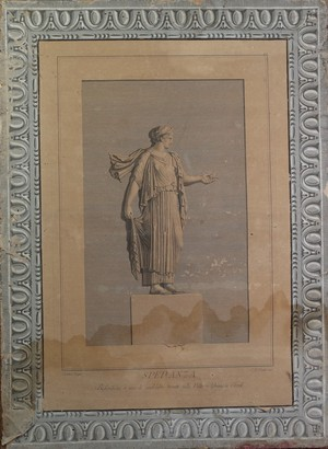 Pair of Paper on Hessian Classical Lithographs