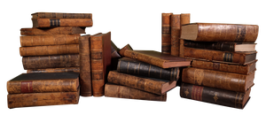 Set of Thirty Decorative Leatherbound Volumes