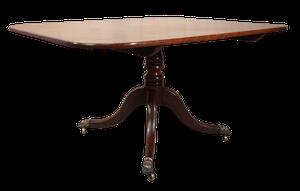 George III Mahogany Tilt Top Breakfast Table