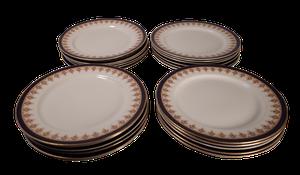 Twenty Four Royal Worcester Dinner Plates
