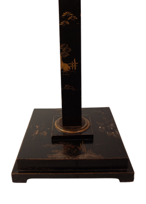 Chinoiserie Decorated Floor Lamp