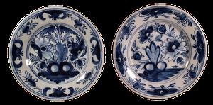 Two Delft Plates