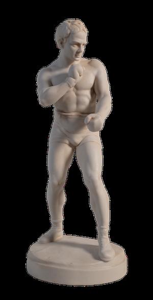 Parian Figure of a Pugilist