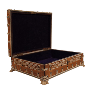 Anglo-Indian Box with Ivory Embellishments