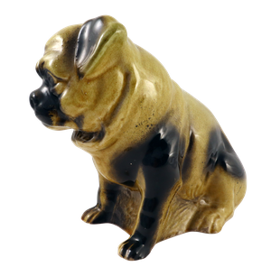 Staffordshire Pottery Model of a Pug