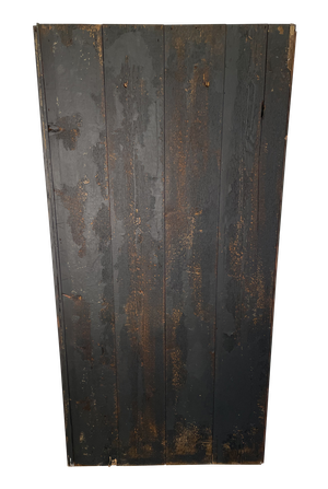 Painted Pine Cloak and Boot Cupboard