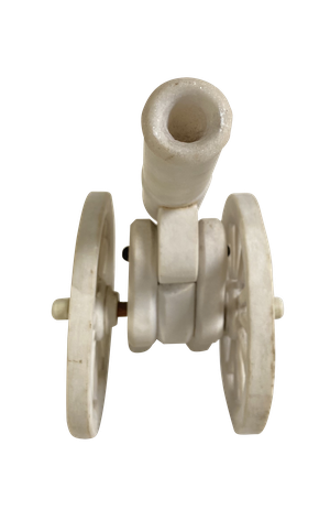 Miniature Marble Model of a Signal Cannon