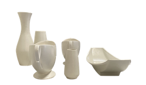 Collection of Sylvac Pottery Vases and Posy Vessels
