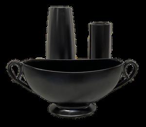 Collection of Three Sylvac Mid Century Pottery Vases