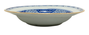 Blue and White Chinese Porcelain Plate