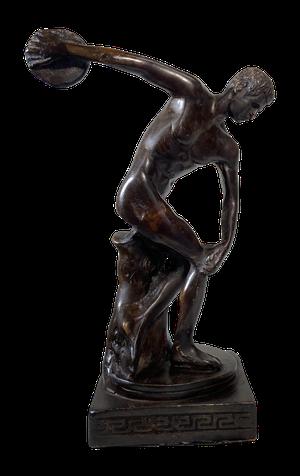 Grand Tour Bronze Model of Discobulus