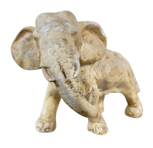 Plaster Elephant