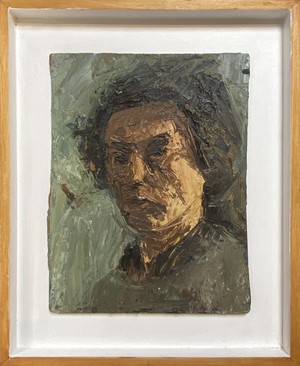 English, mid C20th, oil on board portrait of a male.  Visit our website for full details, link in bio.  #antiquesaregreen #antiquesdealersofinstagram #antiquesforsale #antiquesandcollectables #antiqueinteriors #antiquedecor #antiquesforsale #antiques #interiordecorating #interiors #interiordesign #interiordecorator #interiorstyling #interiordecoration #interiorinspiration #Uplands #Ledbury #Wellingtonheath #herefordshirerocks