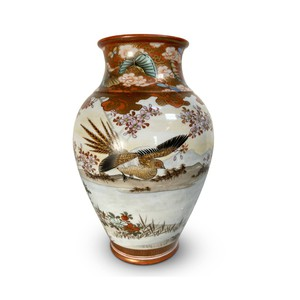 Japanese late C19th, Meiji period Kutani vase decorated with geese and other birds.  Visit our website for more information on the link below:  #antiquesaregreen #antiquesdealersofinstagram #antiquesforsale #antiquesandcollectables #antiqueinteriors #antiquedecor #antiquesforsale #antiques #interiordecorating #interiors #interiordesign #interiordecorator #interiorstyling #interiordecoration #interiorinspiration #Uplands #Ledbury #Wellingtonheath #Herefordshire