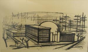 Bernard Buffet Lithograph