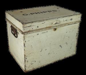 Metal Deed Box