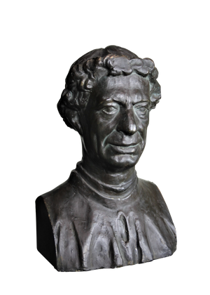 Patinated Bronze Plaster Bust