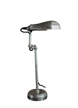 Chrome Clerks Lamp