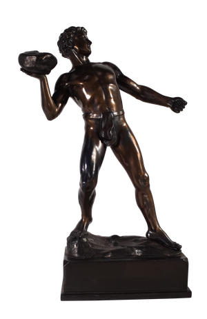 Bronze Olympic Figure