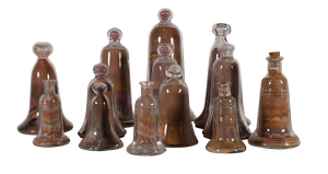 Collection of Edwardian Isle of Wight Sandbells
