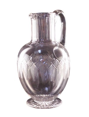 Cut Glass Water Jug