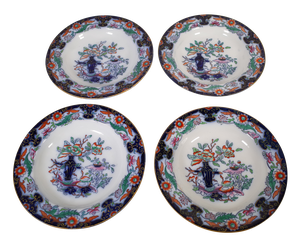 Four Ashworth Ironstone Dishes