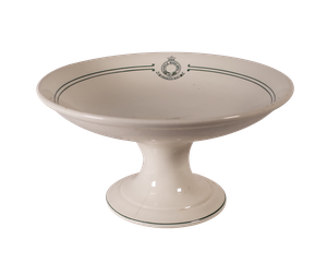Hotelware Ceramic Burslem Comport by Wood & Sons