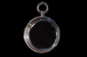 Chrome Watch Clock Mirror