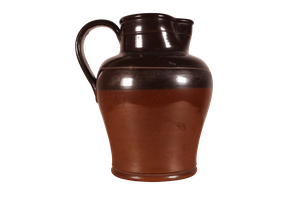 Salt Glazed Stoneware Dairy Jug