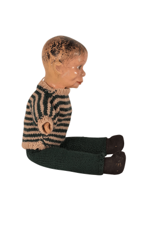Moulded Articulated Ventriloquist Dummy