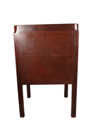 George III Mahogany Commode