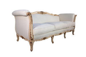 Painted Louis XV Style Sofa