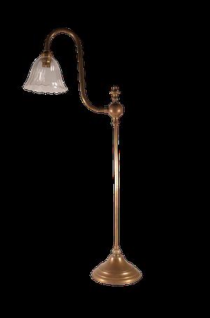 Brass Adjustable Clerks Lamp