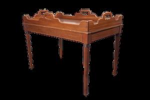 Victorian Mahogany Tray Table
