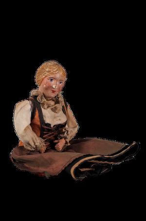 Victorian Terracotta Doll