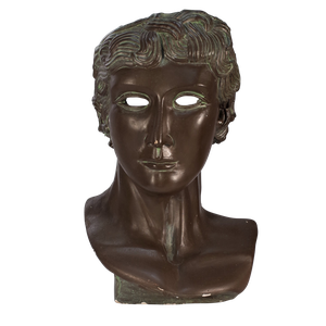 Bronzed Plaster Mask