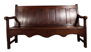 Railway Bench with Original Paint