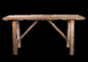 Poplar Scrubbing Table