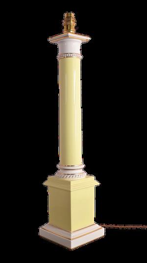 Royal Worcester Column Table Lamp
