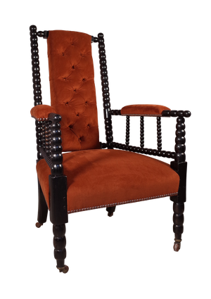 Ebonised Bobbin Chair