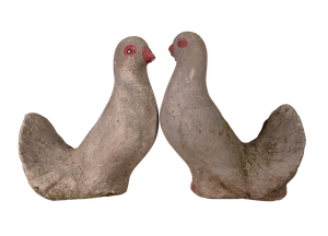Pair of Composite Doves