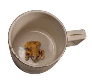Staffordshire Frog Cup