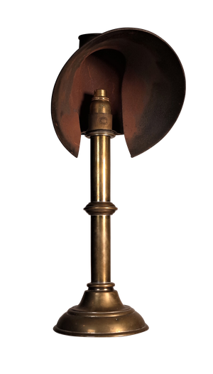 Converted Student's Lamp by Charles Dibben of Sloane Street