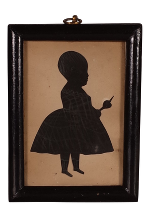 George III Silhouette of Child