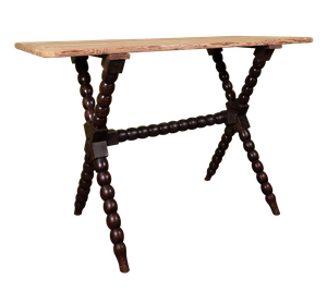 Pine Top Bobbin Table