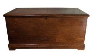 Pine Blanket Box in Original Paint