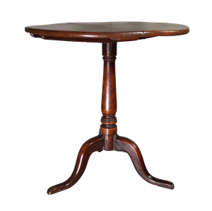 George III Oak and Elm Top Table